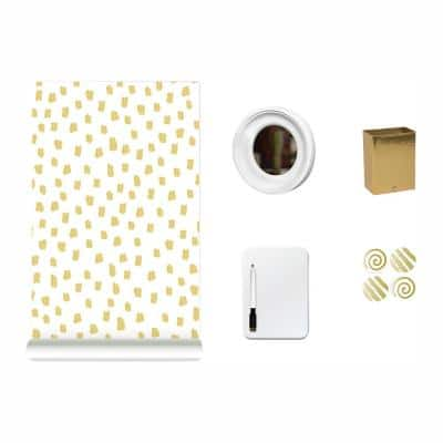 Metallic Dot Locker Kit Decal