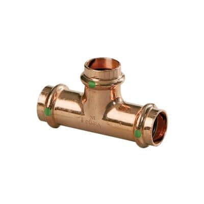 ProPress 1 in. Press Copper Tee Fitting (5-Pack)