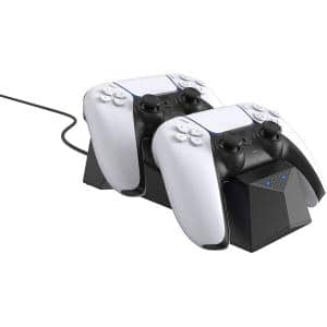 Charging Station for Sony Playstation 5 DualSense Controller - Make Your PS5 Gaming Experience More Convenient (Black)