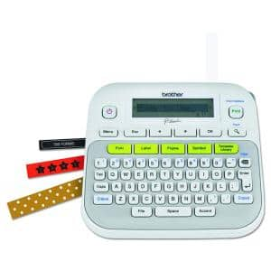 P-Touch Label Maker, White