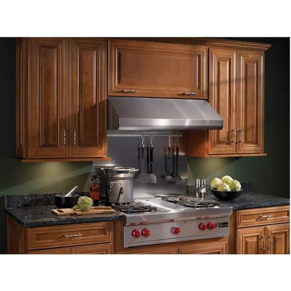 Broan Nutone Elite E64000 30 In Convertible Under Cabinet Range Hood With Light In Stainless Steel E6430ss The Home Depot