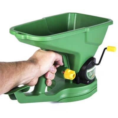 1,000 sq. ft. Hand Spreader for Grass Seed, Fertilizer and Ice Melt