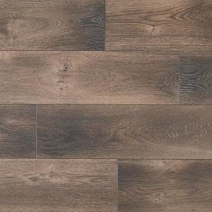 Cappington Oak 12 mm T x 7.5 in W x 50.67 in L Water Resistant Laminate Flooring (18.42 sq. ft./case)