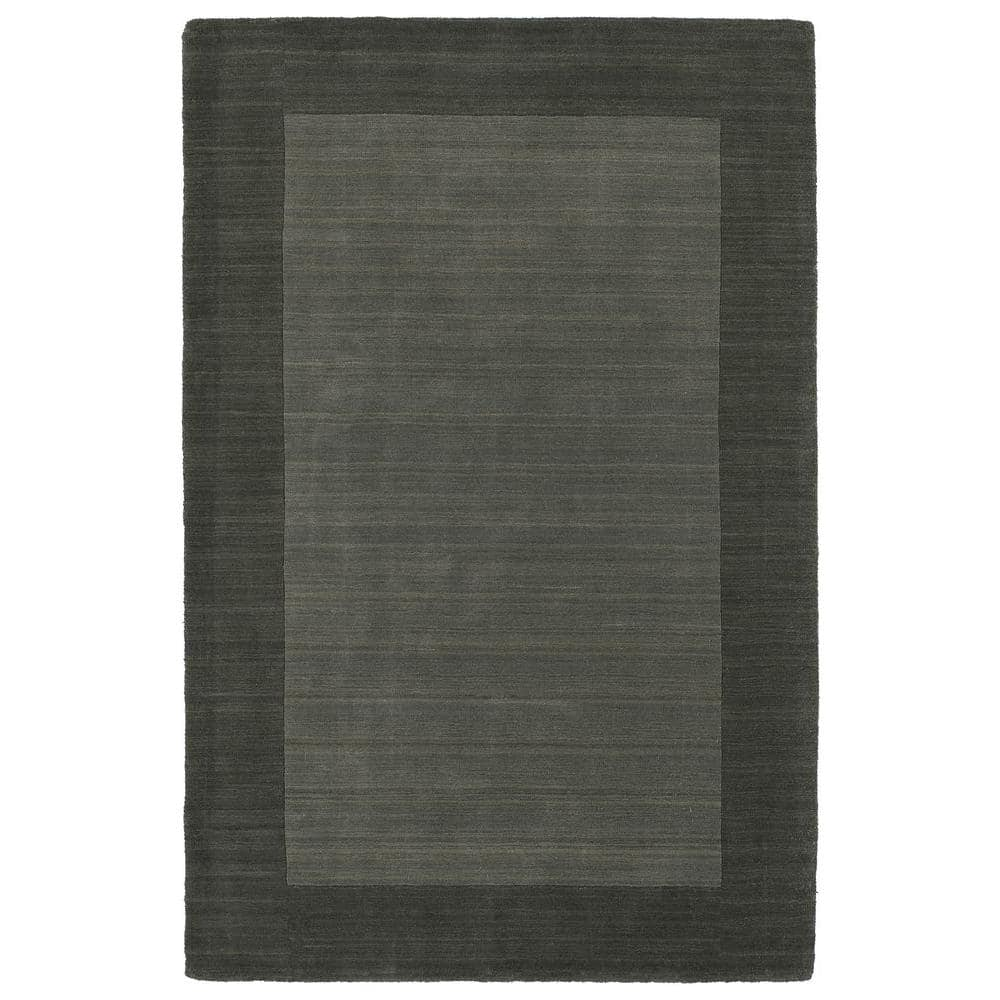Kaleen Regency Charcoal 10 Ft X 13 Ft Area Rug 7000 38 9 6 X 13 The Home Depot