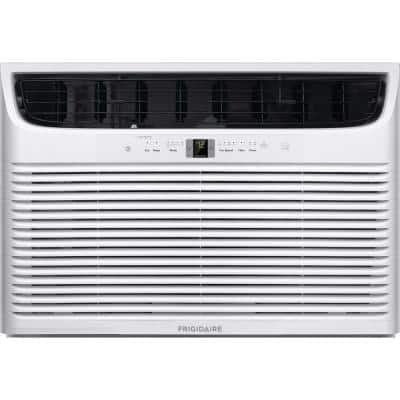 18,000 BTU Window Mounted Room Air Conditioner in White with Remote