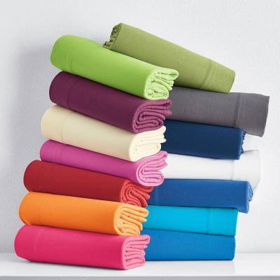 Jersey Knit Cotton Pillowcase (Set of 2)