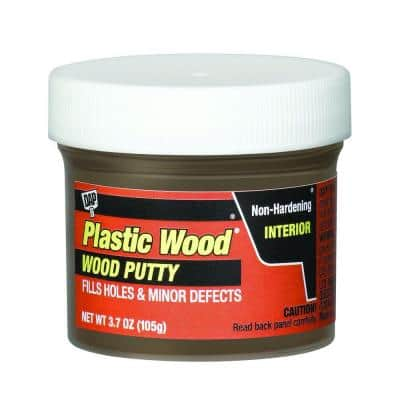 Plastic Wood 3.7 oz. Dark Walnut Wood Putty (6-Pack)