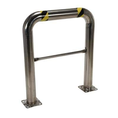 36 in. x 42 in. x 4 in. Stainless Steel High Profile Rack Guard