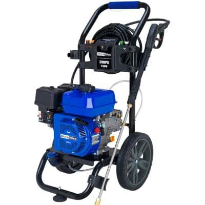208cc 3,100 PSI 2.5GPM Engine High Performance Heavy-Duty Portable Gasoline Water Pressure Washer