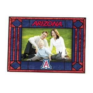 NCAA 4 in. x 6 in. Gloss Multicolor Art Glass Arizona State Picture Frame