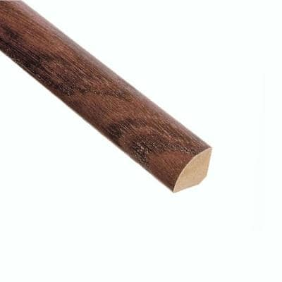 Elm Walnut 3/4 in. Thick x 3/4 in. Length x 94 in. Length Quarter Round Molding