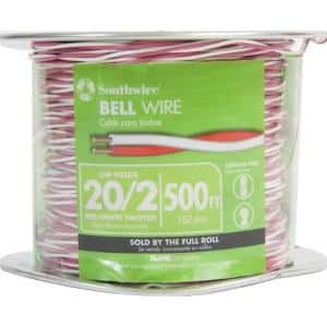 500 ft. 20/2 Twisted CU Bell Wire