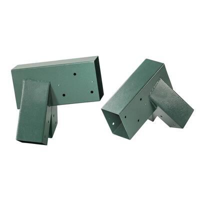 A-Frame Bracket - Green Powder Coating - (Set of 2)