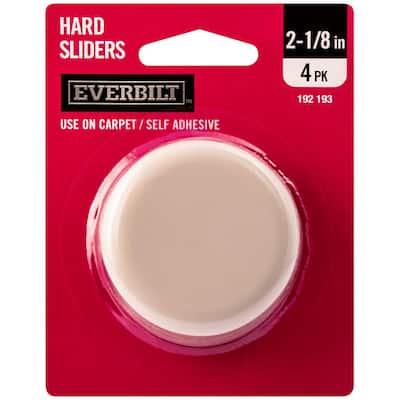 2-1/8 in. Round Adhesive Slider (4-Pack)