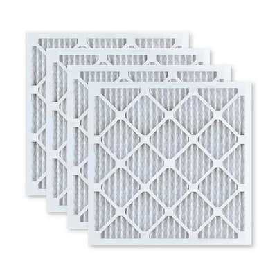 10  x 30  x 1  Superior Allergen Pleated FPR 9 Air Filter (4-Pack)
