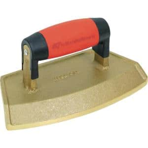 36'' Dia 3/4 in. Lip Bronze Chamfer Tube Edger with Soft Grip Handle