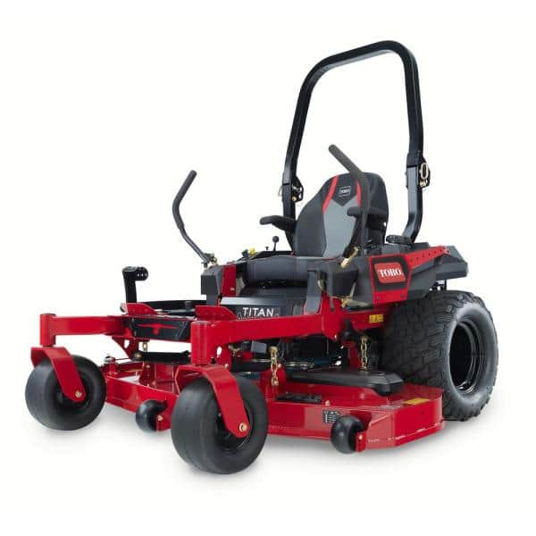 Toro Titan Max 60 In Ironforged Deck 26 Hp Commercial V Twin Gas Dual Hydrostatic Zero Turn Riding Mower 76601 The Home Depot