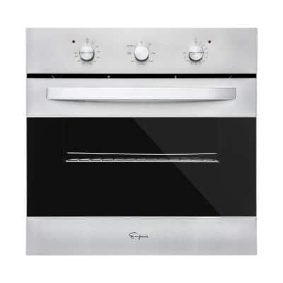 24 in. Convection Single Electric Wall Oven in Stainless Steel