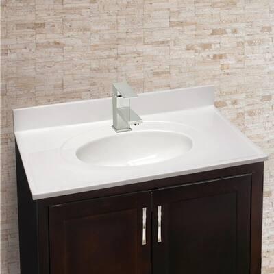 Karsen Single Hole Single-Handle Bathroom Faucet in Satin Nickel