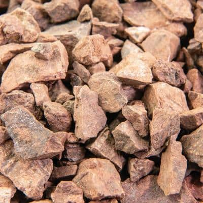 25 cu. ft. 1/2 in. Southwest Brown Bulk Landscape Rock and Pebble for Gardening, Landscaping, Driveways and Walkways