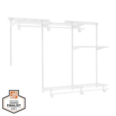 4 ft. - 6 ft. Regular Duty Closet Organizer Kit