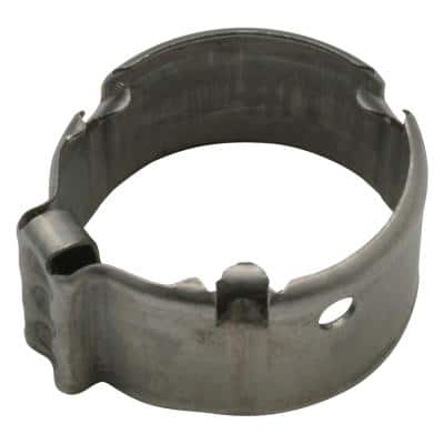1/2 in. Single Ear Crimp Ring (Bag of 100)