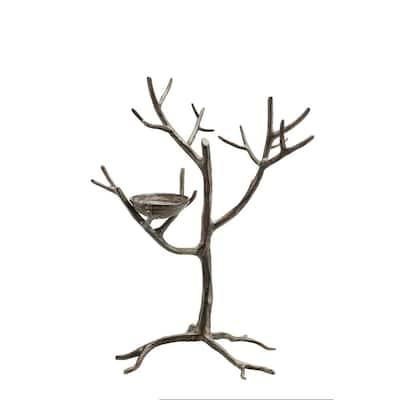Antique Gold Aluminum Jewelry Tree