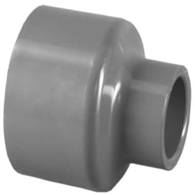 2 in. x 1 in. PVC Schedule 80 S x S Reducer Coupling