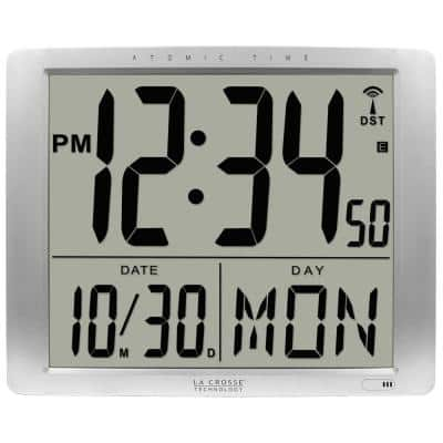 16 in. x 20 in. Super Large Atomic Digital Wall Clock
