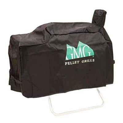 Black Davy Crockett Durable Weather Resistant Grill Cover