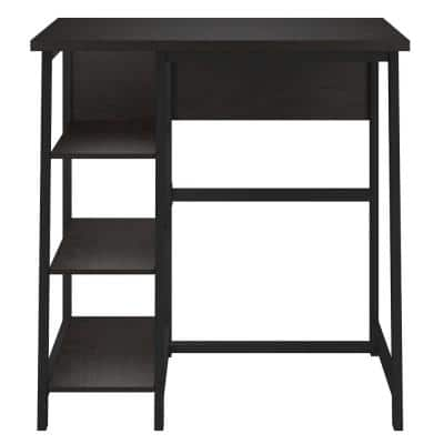 42 in. Rectangular Espresso Standing Desks with Storage