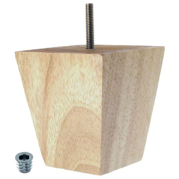 American Pro Decor 5 In X 3 4, Furniture Feet Home Depot