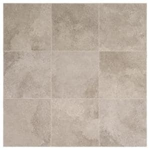 Hastings Gray 12 in. x 12 in. Glazed Porcelain Floor and Wall Tile (14.55 sq. ft. / case)