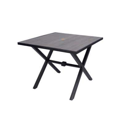35 in. Laguna Point Square Outdoor Patio Dining Table