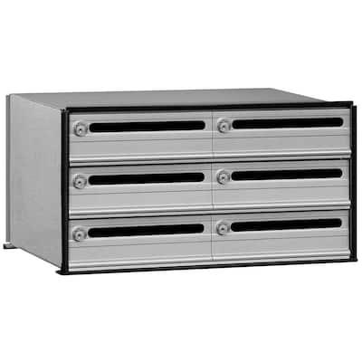 2400 Series 6 Doors Data Distribution System Aluminum Box