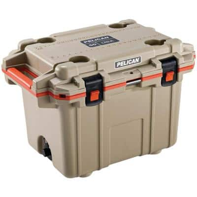50 Qt. Beige Elite Deluxe Cooler