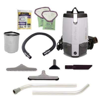 ProVac FS 6 6 Qt. Commercial Backpack Vacuum with Restaurant Tool Kit