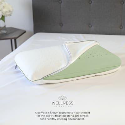 Calming Aloe Vera Medium Memory Foam Standard Pillow