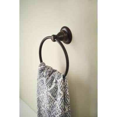 Porter Towel Ring in Oil Rubbed Bronze