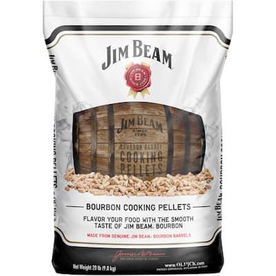 20 lb. Jim Beam Bourbon Barrel BBQ Cooking Pellets