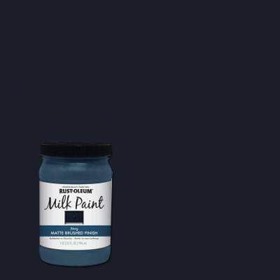 1 qt. Brush-On Craft Milk Paint, Navy
