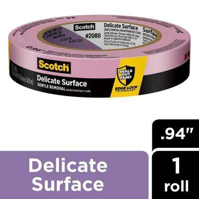 Scotch 0.94 in. x 60 yds. Delicate Surface Painter's Tape with Edge-Lock