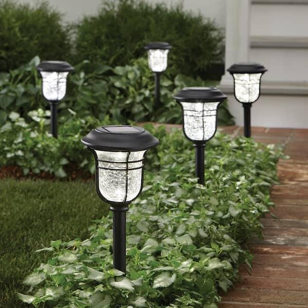 LED Solar Pathway Light Outdoor Landscape Garden Powered by Sun 3000K 6-Lumens