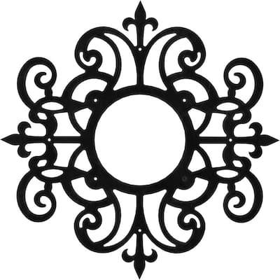 3/16 in. x 28 in. x 28 in. Dijon Metal Pierced Ceiling Medallion