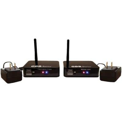 Wireless Transmitter/Receiver Kit for Hookup of Wireless Subwoofers and Wireless Powered Speakers