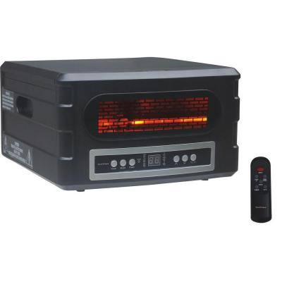 Heat Serve 1,500 Infrared Quartz Portable Heater - Black
