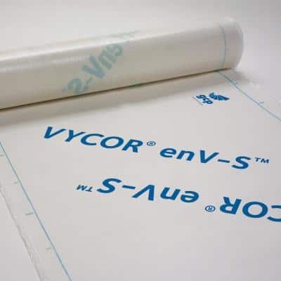 Vycor enV-S 40 in. x 120 ft. Roll Fully-Adhered House Wrap (400 sq. ft.)