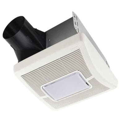 InVent Series 70 CFM Ceiling Installation Bathroom Exhaust Fan with Light