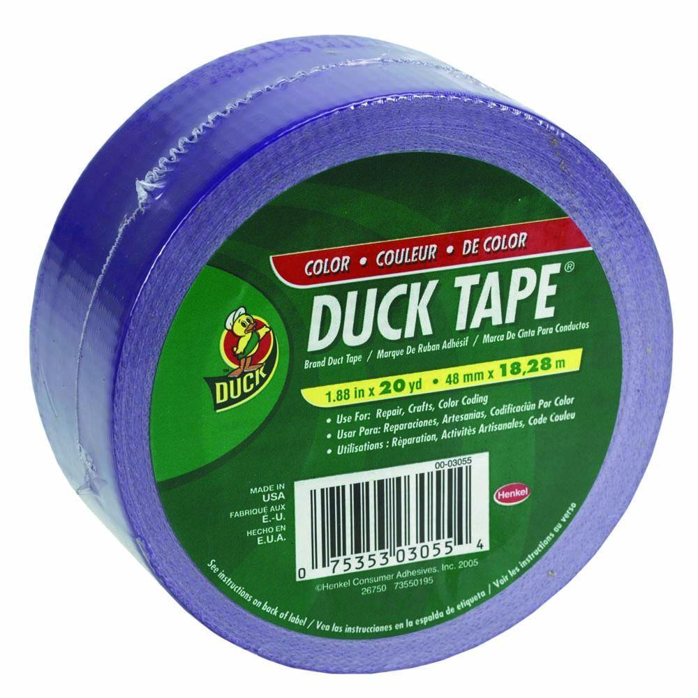 1-7/8 in. x 20 yds. Purple Duct Tape