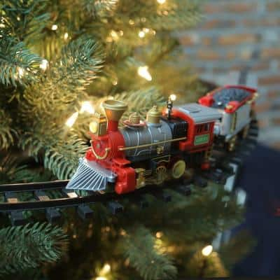 14.25 in. Christmas Tree Train